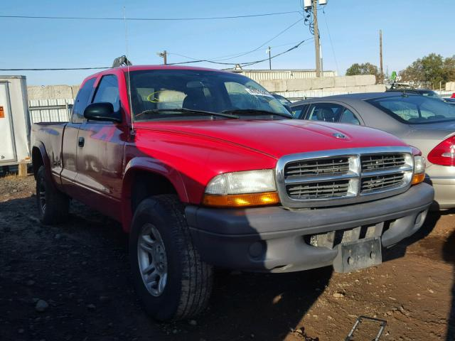 2004 DODGE DAKOTA SXT 3.7L
