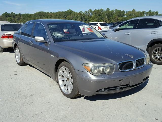 2004 BMW 745 I 4.4L