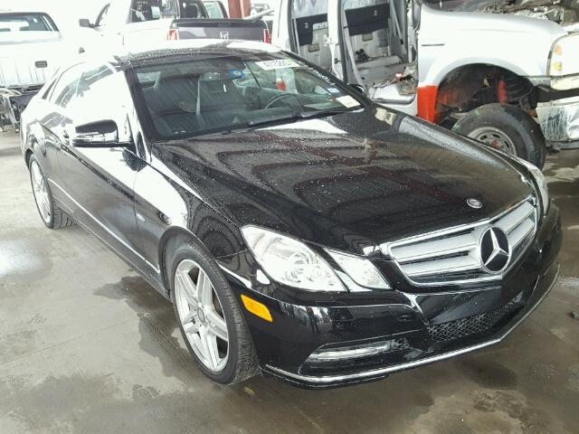 2012 MERCEDES-BENZ E 350 3.5L