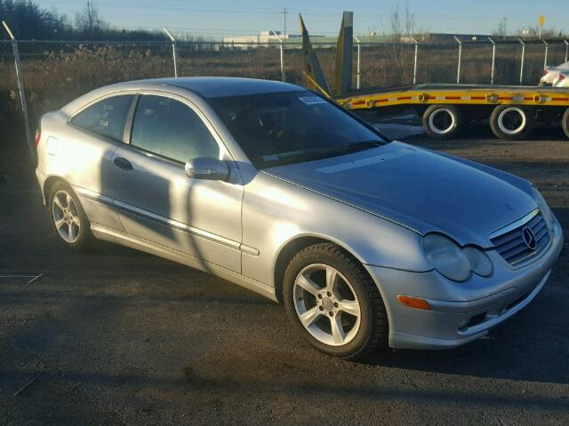 Salvage 2005 Mercedes-Benz C 230 for sale