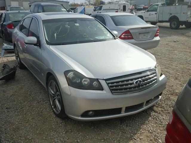 Jnkby01e36m201032 2006 Silver Infiniti M45 Base On Sale In Ok