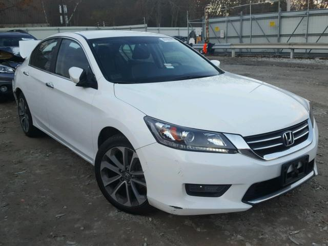2014 honda accord sport for sale ma north boston salvage cars copart usa. Black Bedroom Furniture Sets. Home Design Ideas