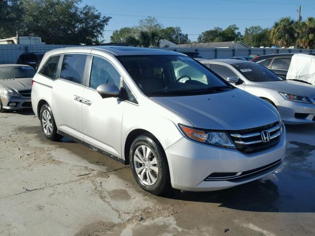 Auto Auction Ended On Vin 5fnrl5h68eb083139 2014 Honda Odyssey In Fl Punta Gorda