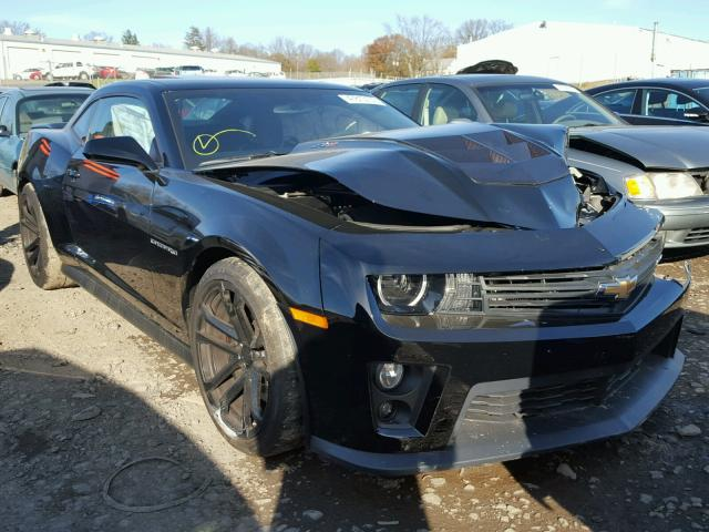 Auto Auction Ended on VIN: 2G1FL1EP5E9800120 2014 CHEVROLET CAMARO ...