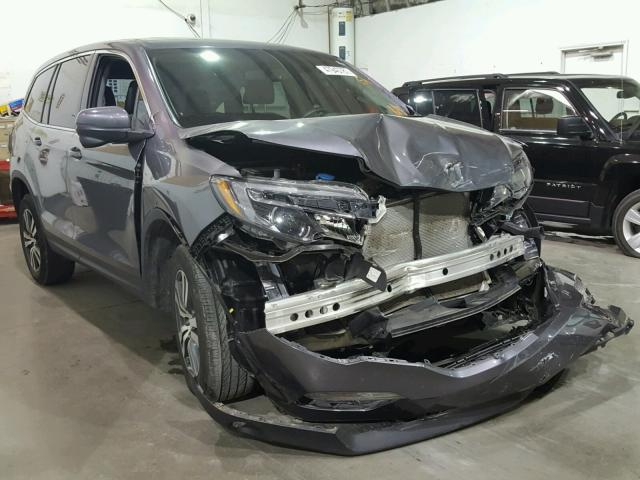 2017 HONDA PILOT EXL For Sale | OK - TULSA - Salvage Cars