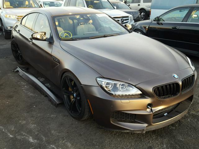 Auto Auction Ended On Vin Wbs6c9c57edv73936 2014 Bmw M6