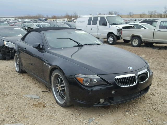 Auto Auction Ended On VIN WBAEKB BMW CI AUT - Bmw 645 2005
