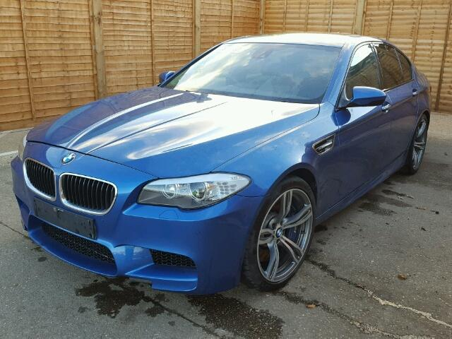 2012 BMW M5 AUTO for sale at Copart UK - Salvage Car Auctions