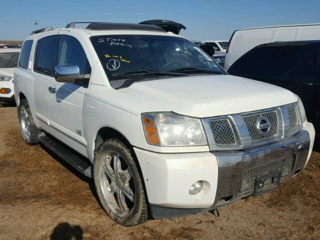 2006 nissan armada se for sale tx houston salvage cars copart usa. Black Bedroom Furniture Sets. Home Design Ideas