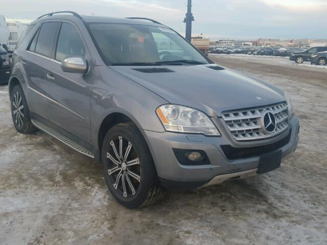 Mercedes-Benz salvage cars for sale: 2010 Mercedes-Benz ML 350 BLU