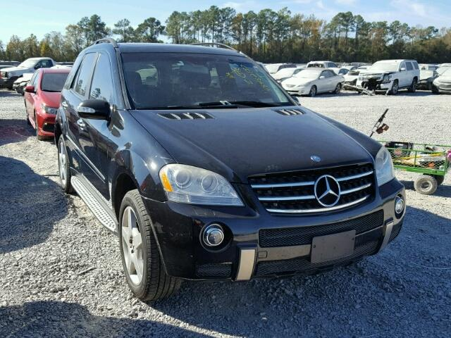 4jgbb72e28a304419 2008 black mercedes benz ml 550 on for Mercedes benz ml 2008 for sale