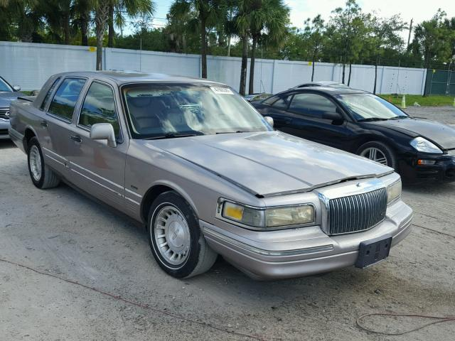 1995 Lincoln Town Car S For Sale At Copart West Palm Beach Fl Lot