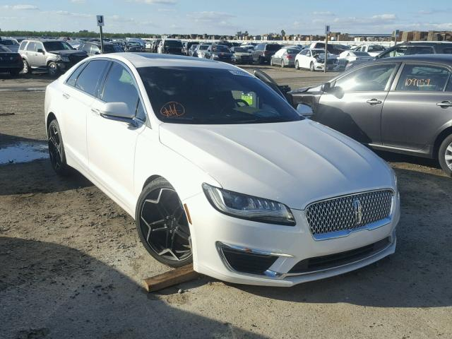 2017 Lincoln Mkz Hybrid Reserve For Sale Ca Fresno Salvage