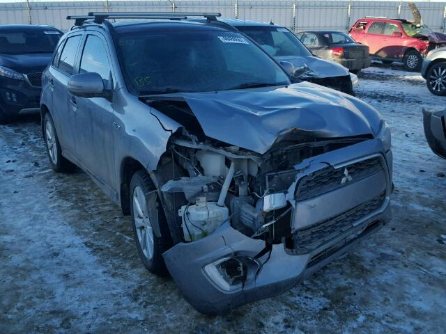 Mitsubishi RVR GT salvage cars for sale: 2015 Mitsubishi RVR GT