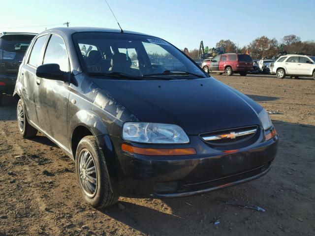 2005 Chevrolet Aveo Base Photos Nj Somerville Salvage Car