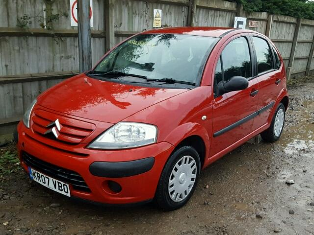2007 citroen c3 airplay for sale at copart uk salvage car auctions. Black Bedroom Furniture Sets. Home Design Ideas