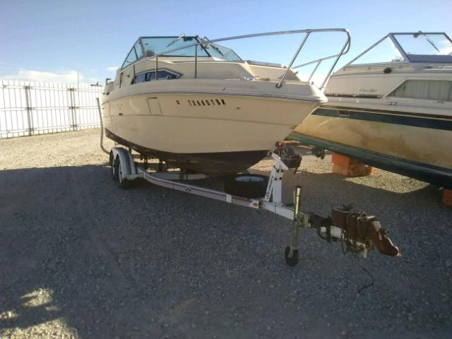 Salvage 1983 Sea Ray MARINE TRAILER for sale
