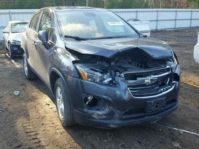 2016 Chevrolet Trax Ls For Sale Me Lyman Salvage Cars Copart Usa