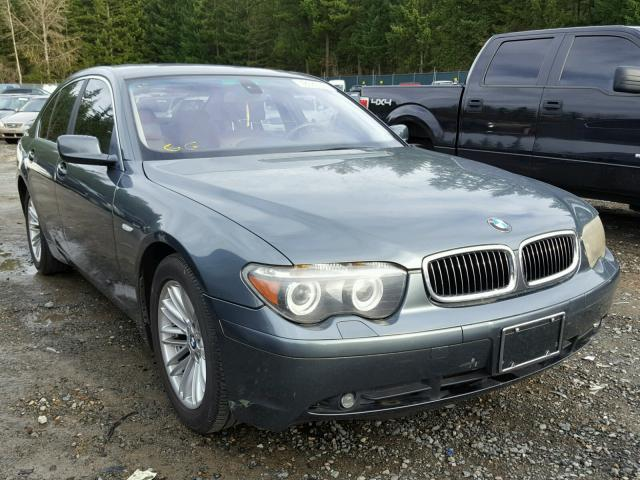 Auto Auction Ended On VIN WBAGLDP BMW I In WA - 745 i bmw