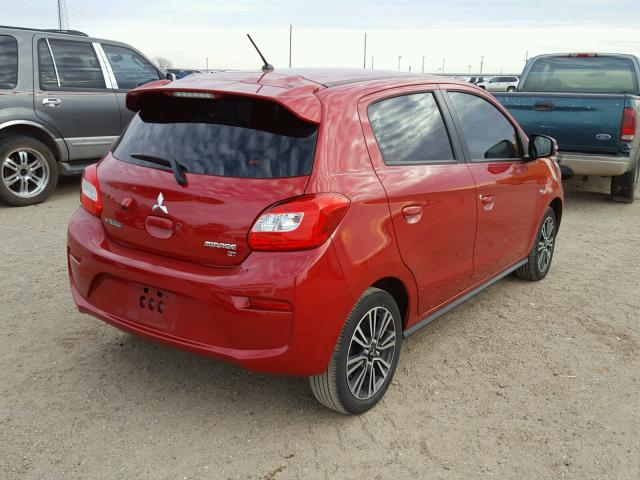 2017 Mitsubishi Mirage Gt 12l Salvage Car For Sale Auction In Tx