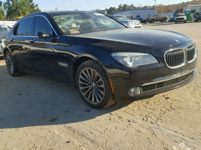 Salvage 2012 BMW 750LI for sale