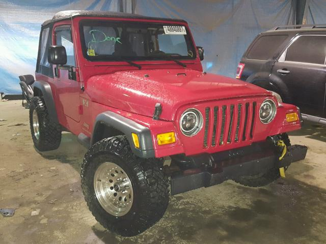 Jeep Wrangler X salvage cars for sale: 2006 Jeep Wrangler X