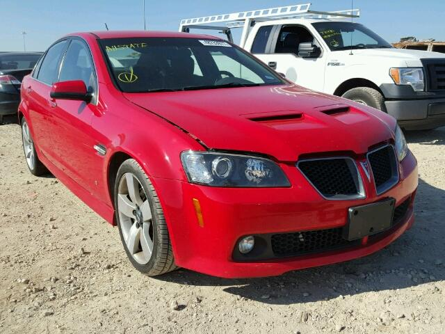 2009 pontiac g8 gt for sale tx houston salvage cars. Black Bedroom Furniture Sets. Home Design Ideas