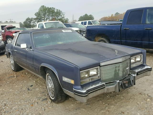 Auto Auction Ended On Vin 1g6al5785ee662920 1984 Cadillac Eldorado