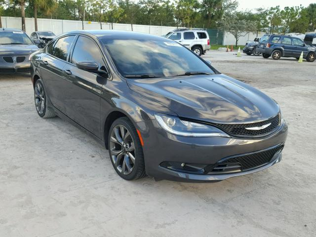 2015 CHRYSLER 200 S 2.4L