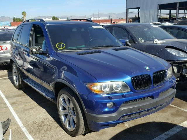 Auto Auction Ended on VIN: 5UXFA93564LE81994 2004 BMW X5 4.8IS in CA ...