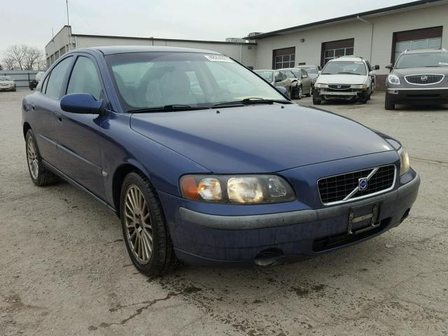 2002 volvo s60 2 4t for sale in indianapolis salvage. Black Bedroom Furniture Sets. Home Design Ideas