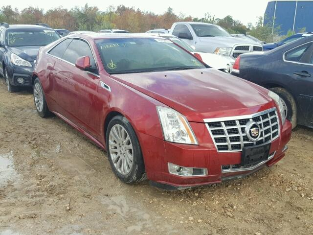 Salvage 2014 Cadillac CTS PREMIUM for sale