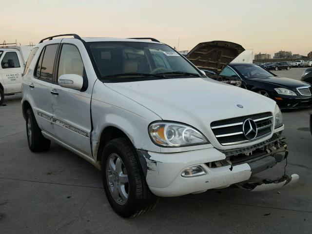 Mercedes-Benz ML 500 salvage cars for sale: 2003 Mercedes-Benz ML 500