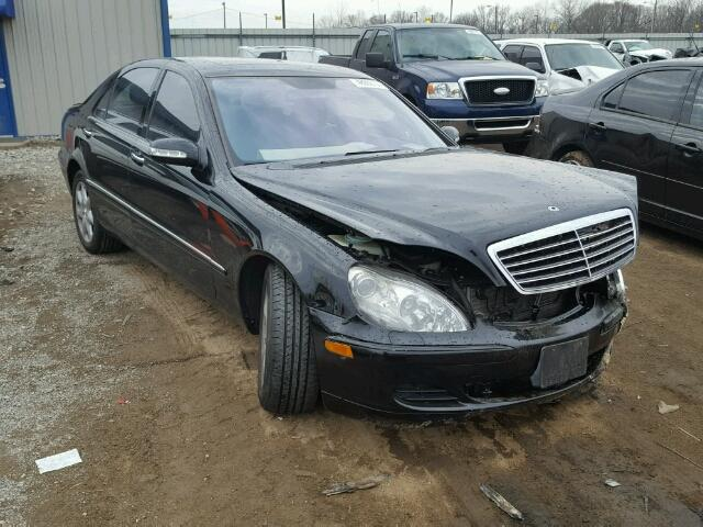 Mercedes-Benz S 430 4matic salvage cars for sale: 2004 Mercedes-Benz S 430 4matic