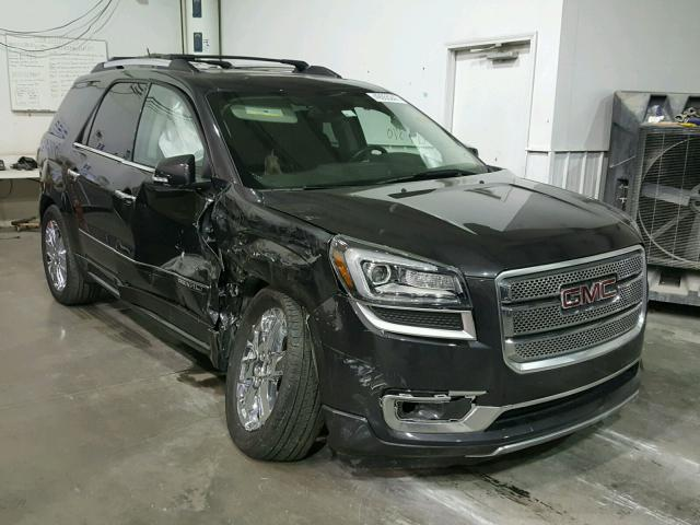 2016 gmc acadia denali for sale ok tulsa salvage cars copart usa. Black Bedroom Furniture Sets. Home Design Ideas
