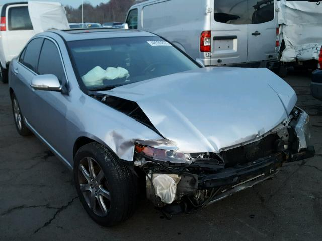 jh4cl96945c003423 2005 blue acura tsx on sale in ct hartford