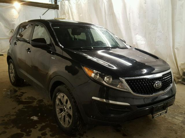 2014 kia sportage lx for sale pa altoona salvage cars copart usa. Black Bedroom Furniture Sets. Home Design Ideas