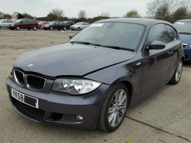 2008 bmw 118d m spo for sale at copart uk salvage car auctions. Black Bedroom Furniture Sets. Home Design Ideas