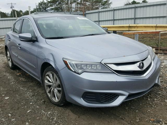 2016 acura ilx base for sale ms jackson salvage cars copart usa. Black Bedroom Furniture Sets. Home Design Ideas