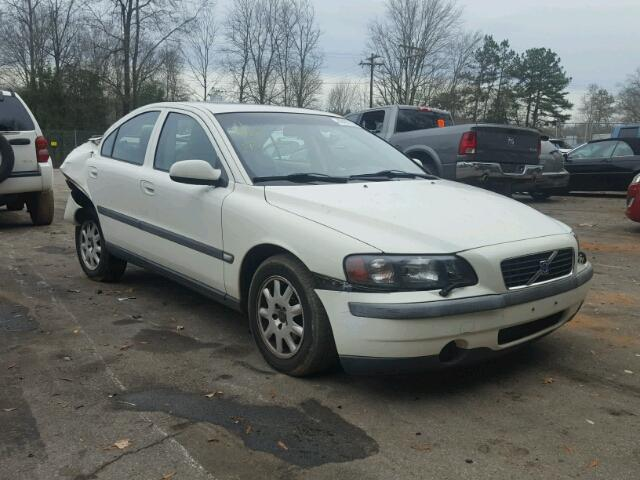 Salvage 2001 Volvo S60 for sale