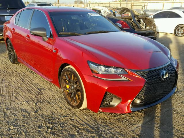 Auto Auction Ended on VIN: JTHBP1BL5GA001844 2016 LEXUS GS-F in CA ...