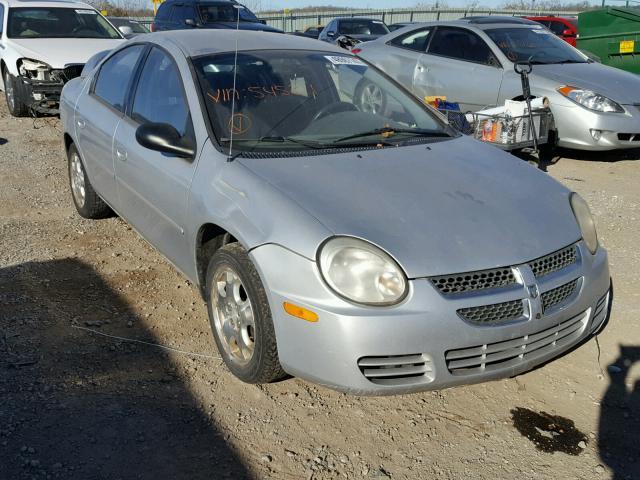 Auto Auction Ended on VIN: 1B3ES56C94D545211 2004 DODGE NEON SXT in