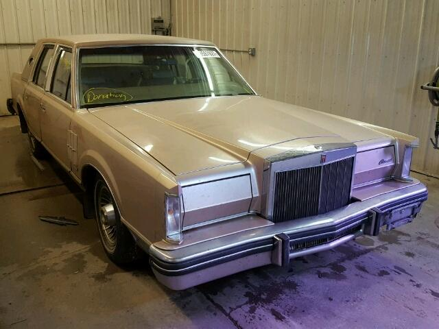 Auto Auction Ended On Vin 0y90f650147 1980 Lincoln Town Car In Mn