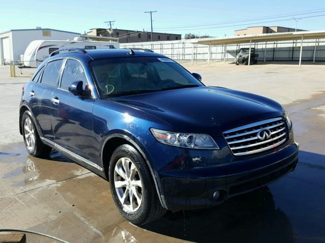 Auto Auction Ended On Vin Jnras08u56x101329 2006 Infiniti Fx35 In
