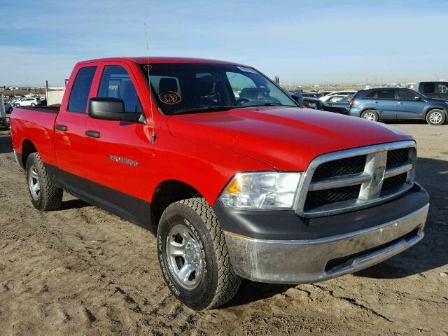 2012 dodge ram 1500 st for sale ab calgary salvage cars copart usa. Black Bedroom Furniture Sets. Home Design Ideas