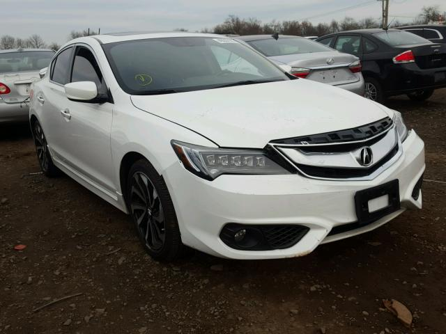 2016 acura ilx premium style for sale nj somerville salvage cars copart usa. Black Bedroom Furniture Sets. Home Design Ideas