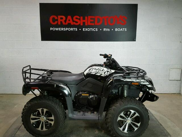 2012 KYMCO USA INC KYMCO ATV