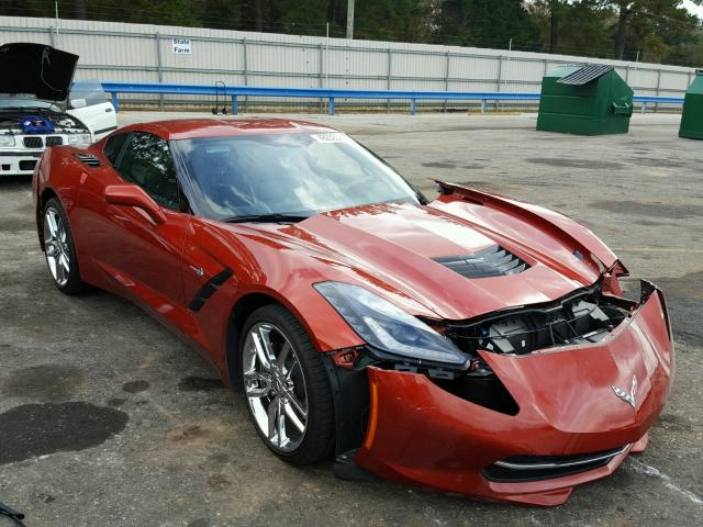 2015 chevrolet corvette stingray for sale al mobile salvage cars copart usa. Black Bedroom Furniture Sets. Home Design Ideas