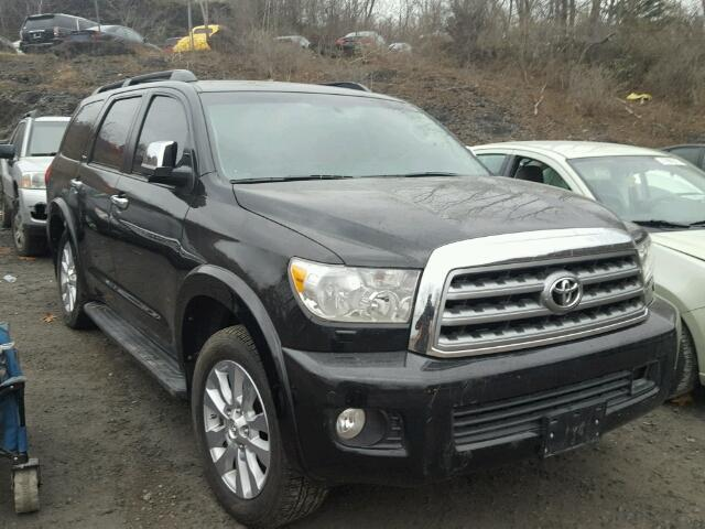 2016 toyota sequoia platinum for sale ny newburgh salvage cars copart usa. Black Bedroom Furniture Sets. Home Design Ideas