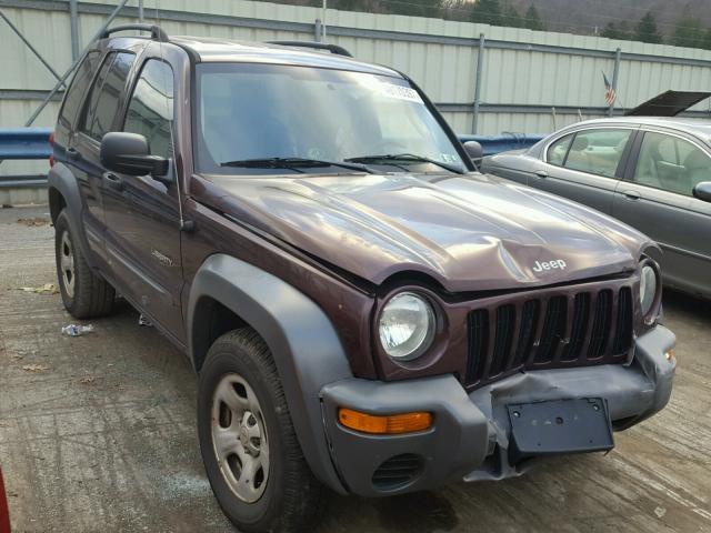 1j4gl48k14w284934 2004 Purple Jeep Liberty Sp On Sale In Pa